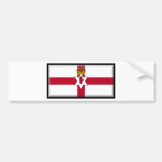 Ulster Flag Bumper Sticker