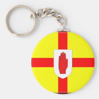 Ulster Flag Key Chain