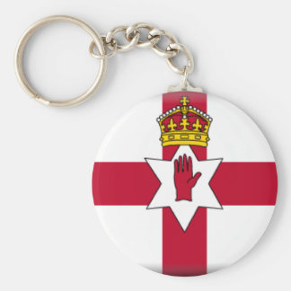 Ulster Flag Key Chains