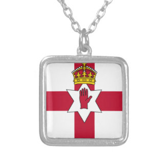 Ulster Flag Necklace