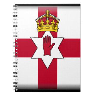 Ulster Flag Spiral Notebook