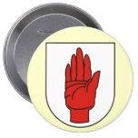 Ulster, Ireland Buttons