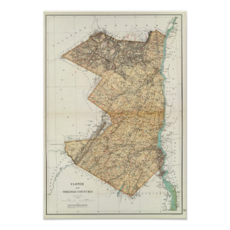 Ulster, Orange counties Poster