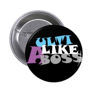 Ulti como un botón (oscuro) de Boss Pins