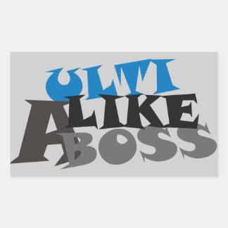Ulti Like A Boss Sticker