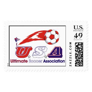 Última asociación del fútbol sello