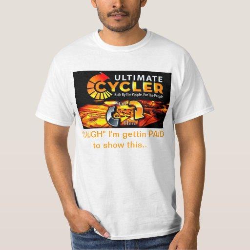 ÚLTIMA camiseta del coche del márketing de CYCLER