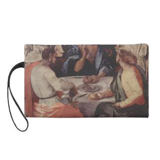 Última cena de Jacopo Pontormo- en Emmaus