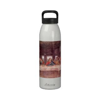 Última cena de Leonardo da Vinci arte renacentist Botellas De Agua Reutilizables