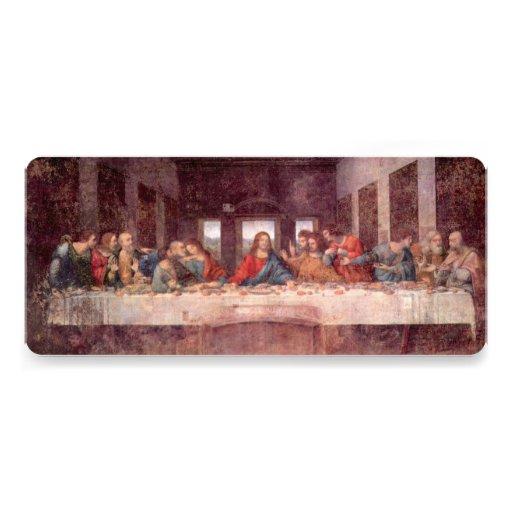 Última cena de Leonardo da Vinci, arte renacentist Comunicado Personalizado