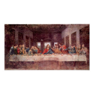 Última cena de Leonardo da Vinci arte renacentist Impresiones