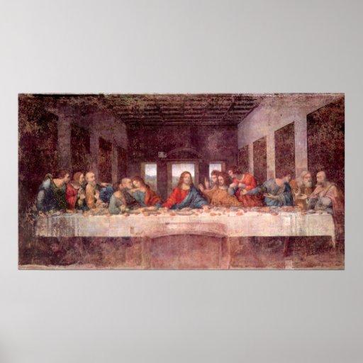 Última cena de Leonardo da Vinci, arte renacentist Impresiones