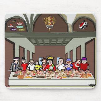 Última cena de los comedores alfombrillas de raton