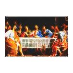 Última cena del Jesucristo Impresión En Lona