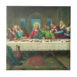 Última cena del vintage con Jesucristo y los apóst Teja Ceramica