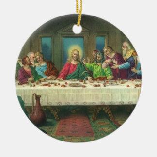 Última cena del vintage con Jesucristo y los apóst Adornos
