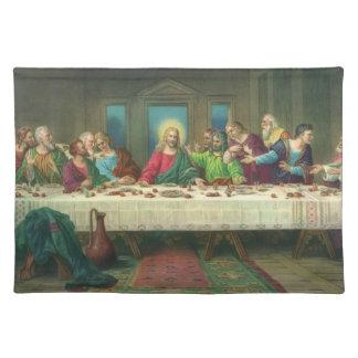 Última cena del vintage con Jesucristo y los apóst Manteles