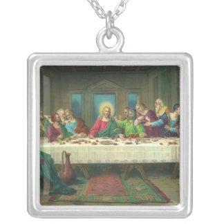 Última cena del vintage con Jesucristo y los Colgantes