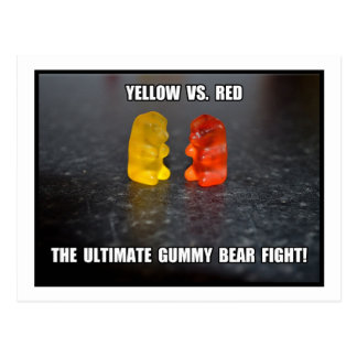 Última lucha gomosa del oso postal