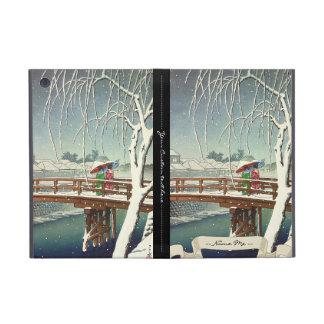 Última nieve a lo largo del arte del invierno de H iPad Mini Cárcasa