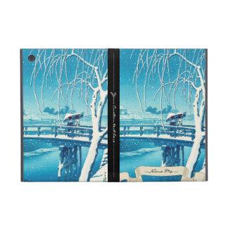 Última nieve a lo largo del arte del invierno del  iPad mini funda