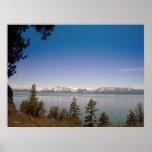 Última primavera en el lago Tahoe (poster)