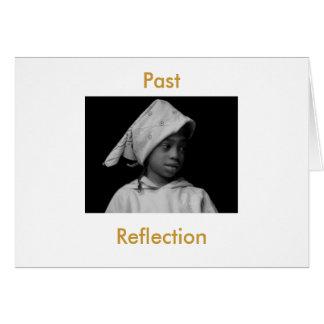 Última reflexión tarjeta de felicitación