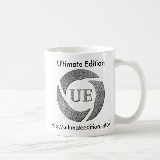 Última taza de café de la edición