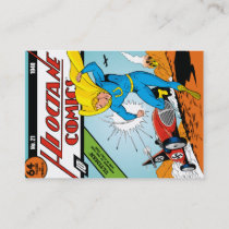 Ultiman,  Hi-Octane Comics #21 Business Card
