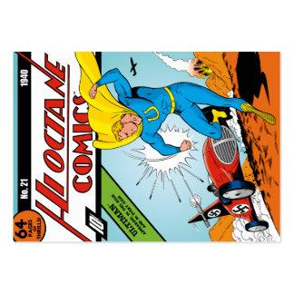 Ultiman,  Hi-Octane Comics #21 Business Card