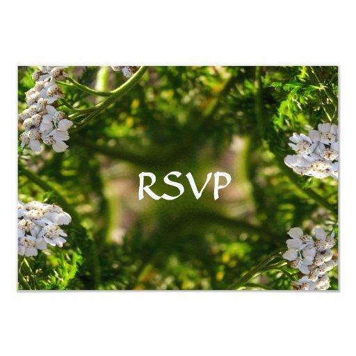 Últimas tarjetas de RSVP del fractal de la gloria Anuncio