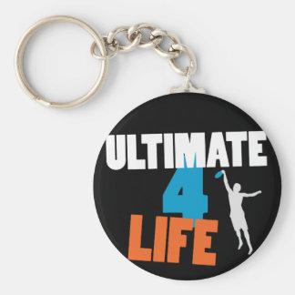 Ultimate 4 Life (dark) Keychain