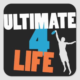 Ultimate 4 Life (dark) Sticker