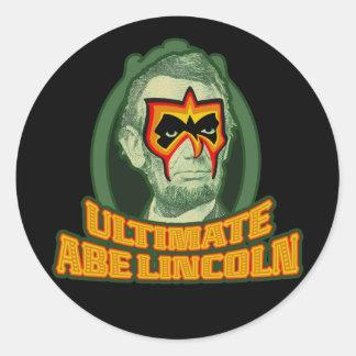 Ultimate Abe Lincoln Classic Round Sticker