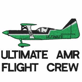 ULTIMATE AMR FLIGHT CREW HOODED FLEECE JACKET