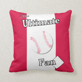 Ultimate Baseball Fan Brother's Freedom Throw Pillow