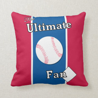 Ultimate Baseball Fan Foundations of Liberty Throw Pillow