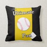 Ultimate Baseball Fan Iron River Pillow