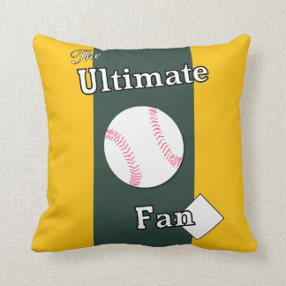 Ultimate Baseball Fan Molded Dairy Throw Pillow