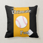 Ultimate Baseball Fan RIver Thieves Pillow