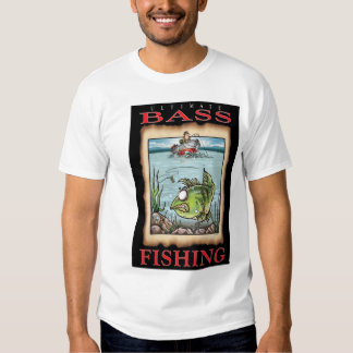 ULTIMATE BASS FISHING Tee T Shirt