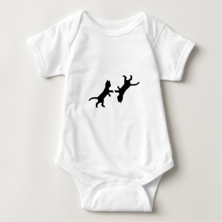 Ultimate Cat Fight - Meow Baby Bodysuit