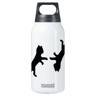 Ultimate Cat Fight - Meow Insulated Water Bottle