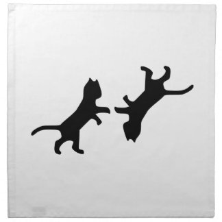 Ultimate Cat Fight - Meow Napkin