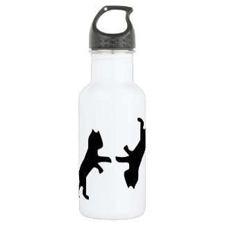 Ultimate Cat Fight - Meow Stainless Steel Water Bottle