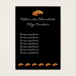 Ultimate Chocolate Chip Cookies Recipe Tag