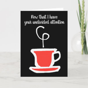 ULTIMATE COFFEE LOVERS 40th BIRTHDAY Card