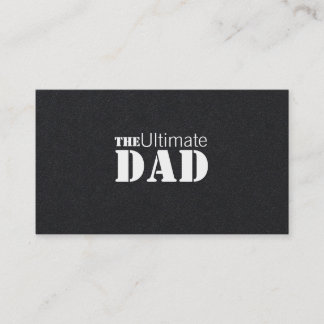 Ultimate Dad Business Card
