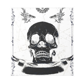 Ultimate Death Skull Notepad
