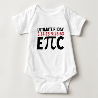 Ultimate EPIC Pi Day 2015 Infant Creeper